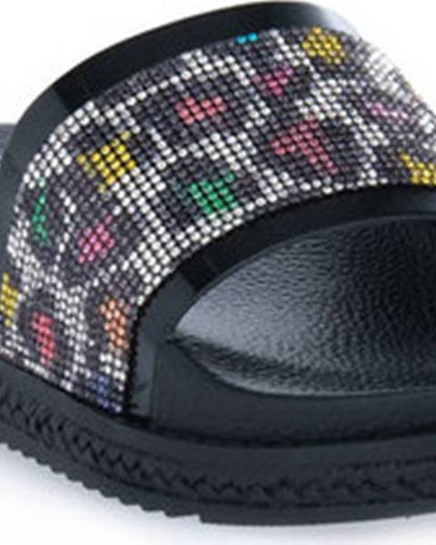 Černé sandály Cafe Noir