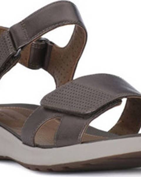 Béžové sandály Clarks