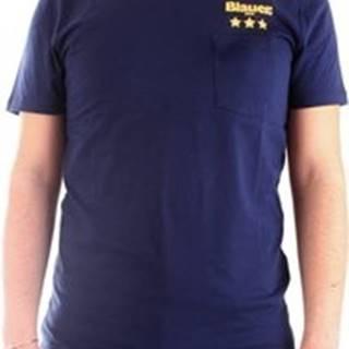 Blauer Trička s krátkým rukávem 20SBLUH02172-004547 Modrá