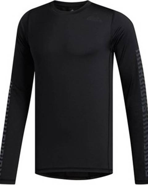 Černé tričko adidas