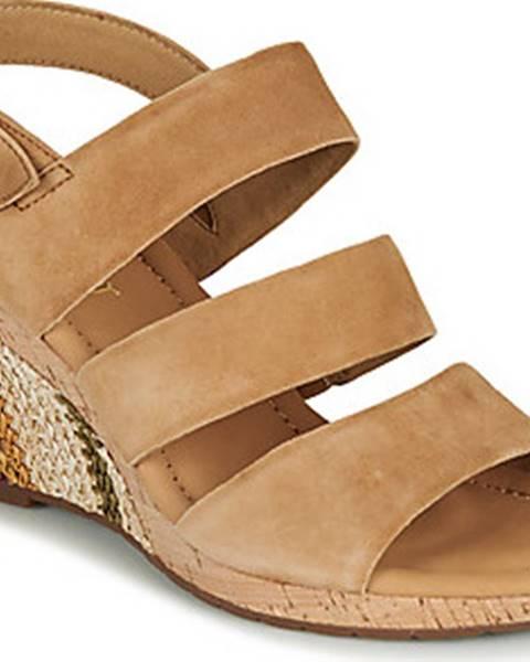 Hnědé sandály Gabor