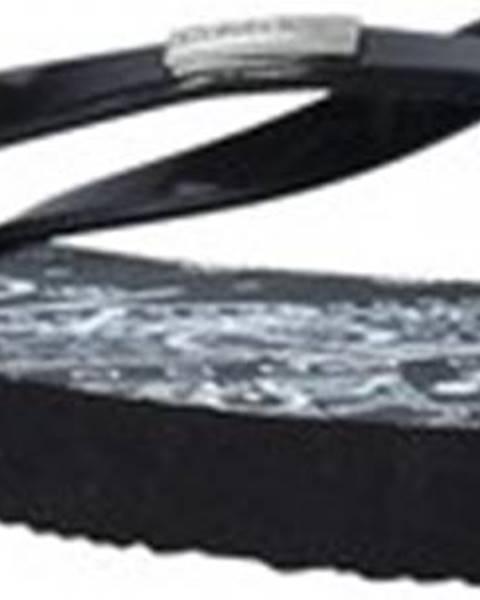 Černé pantofle calvin klein jeans