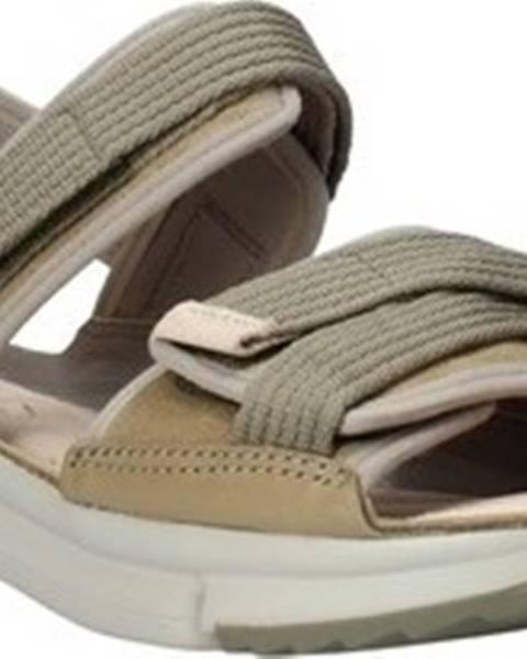 Zelené sandály Clarks