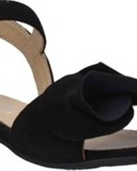 Černé sandály Igi&co