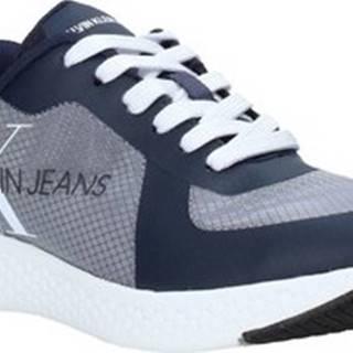 Calvin Klein Jeans Tenisky B4S0649 Modrá