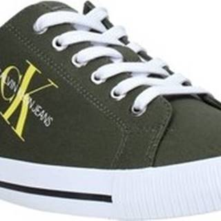 Calvin Klein Jeans Tenisky B4S0670 Zelená
