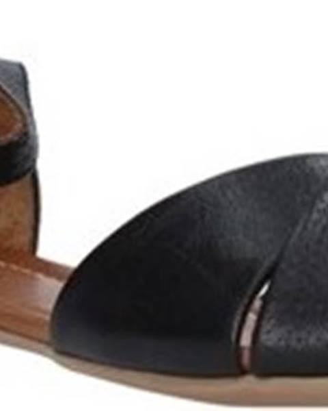 Černé sandály Bueno Shoes
