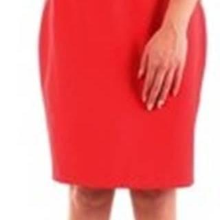 Fracomina Krátké šaty FR20SP645 Červená