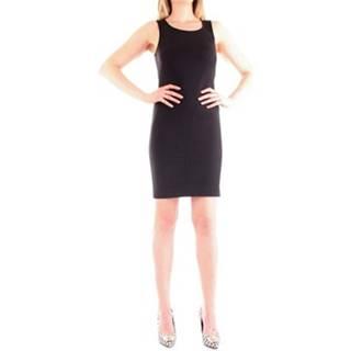 Patrizia Pepe Krátké šaty 8A0609/AQ39 Černá