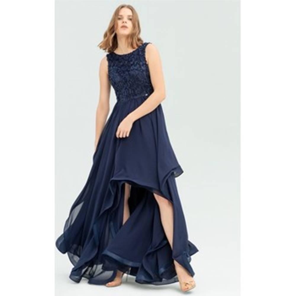 Fracomina Fracomina Společenské šaty FR20SP626 Modrá