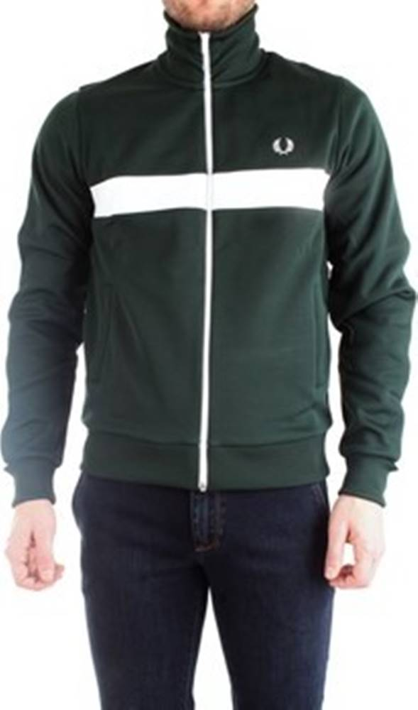 Fred Perry Fred Perry Mikiny J7540 Zelená