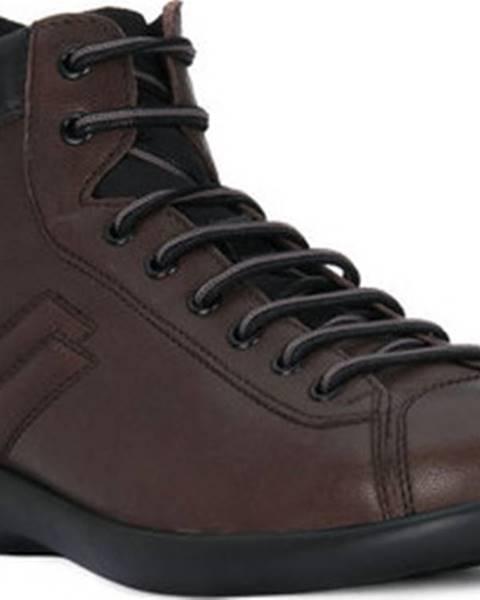 Hnědé boty Frau