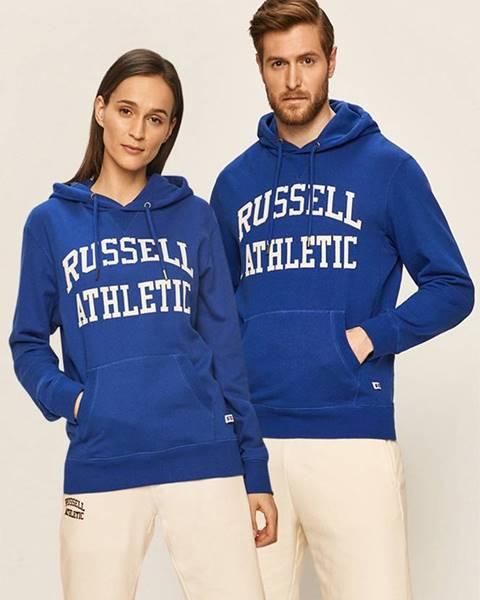 Modrá mikina Russell Athletic