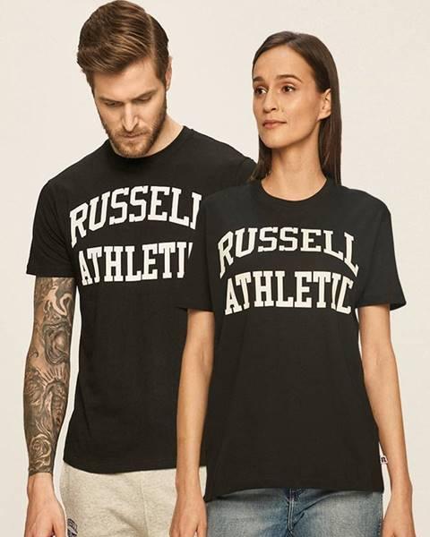 Černý top Russell Athletic