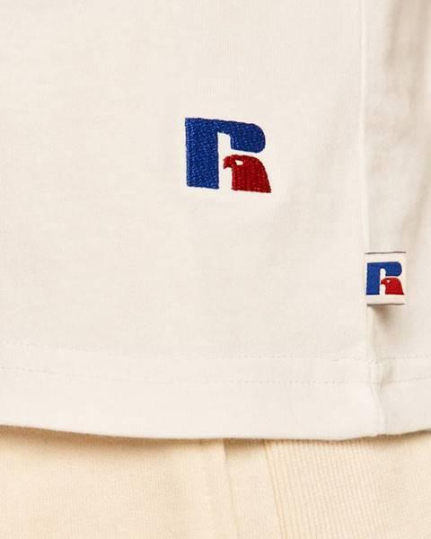 Bílý top Russell Athletic