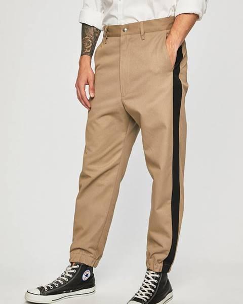 Béžové kalhoty Diesel