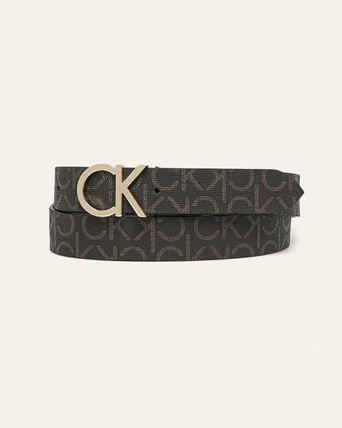 Hnědý pásek Calvin Klein