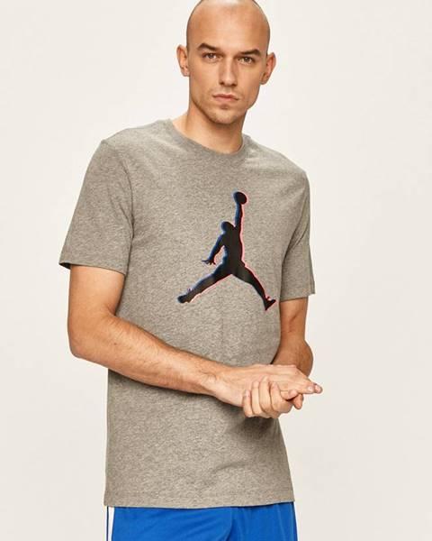 Šedé tričko Jordan