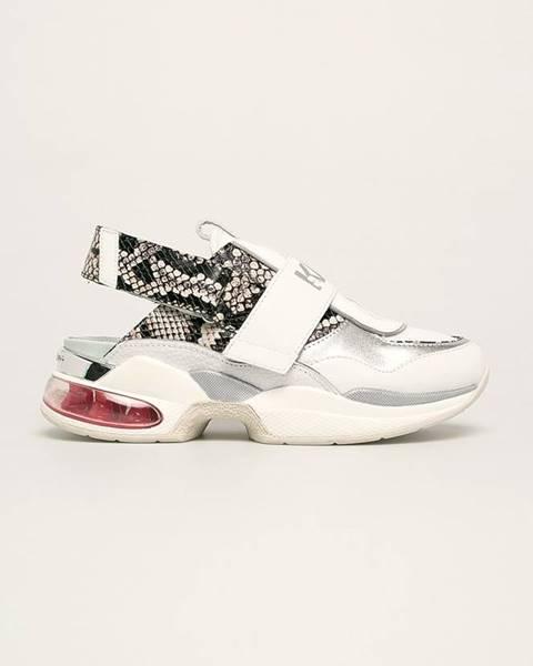 Bílé boty karl lagerfeld