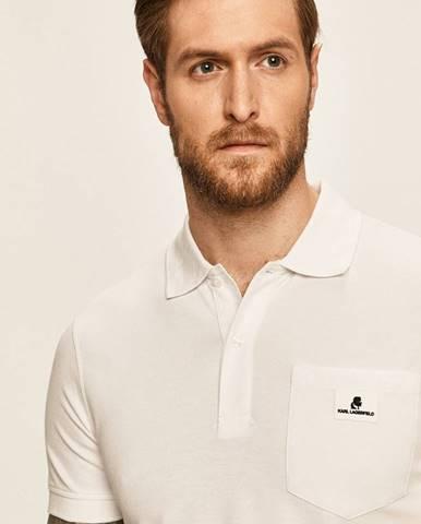 Bílé tričko karl lagerfeld