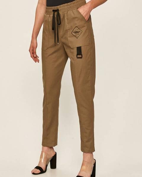 Zelené kalhoty LABELLAMAFIA
