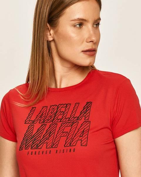 Červený top LABELLAMAFIA