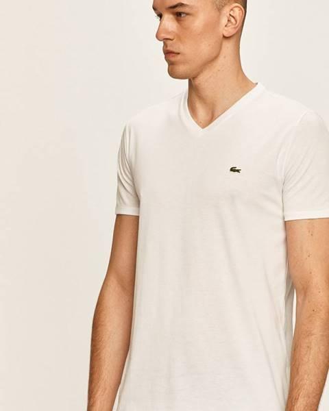 Bílé tričko lacoste