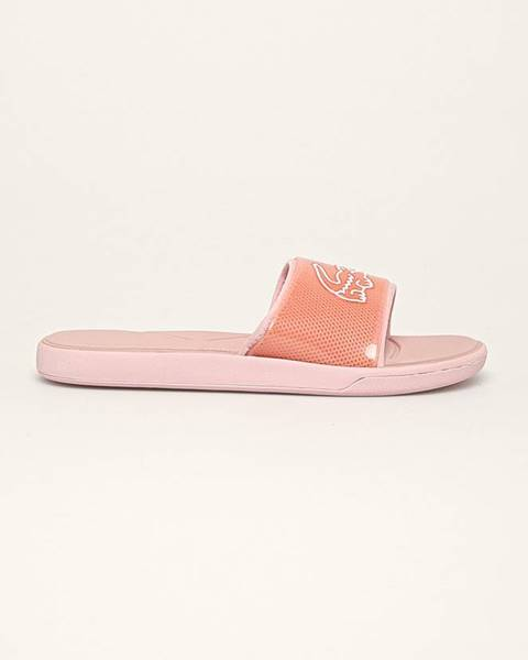 Oranžové boty lacoste
