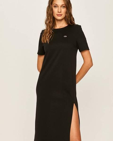 Černé šaty lacoste