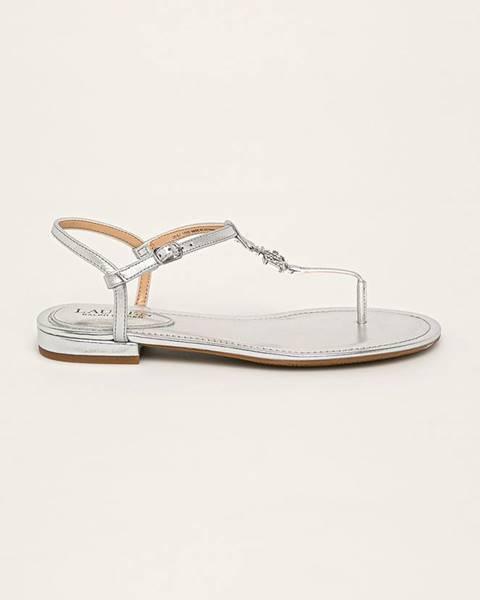 Stříbrné boty lauren ralph lauren