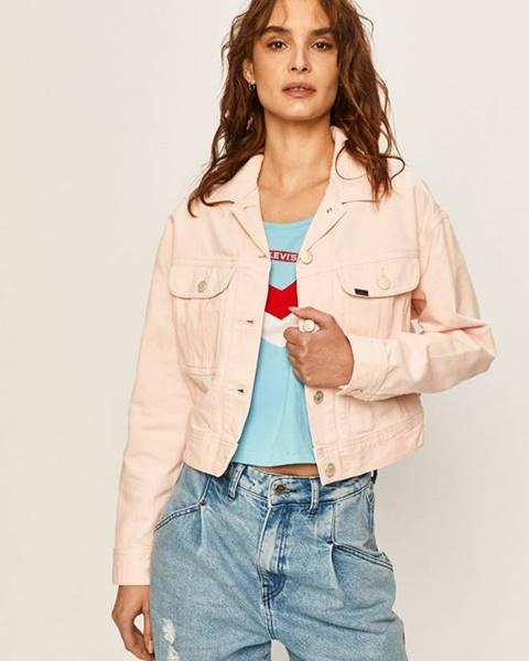 Růžová bunda lee