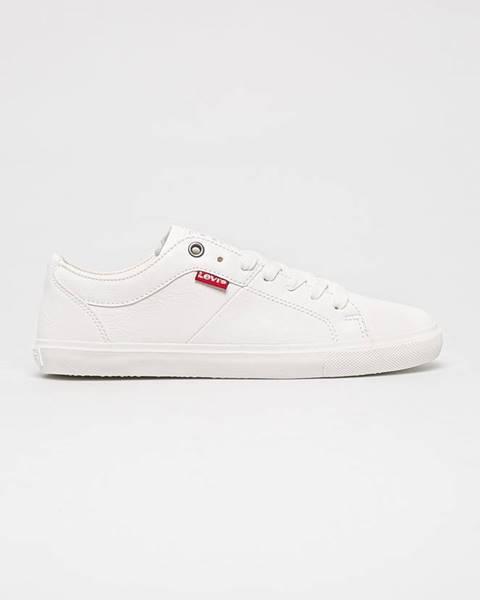 Bílé boty Levi's