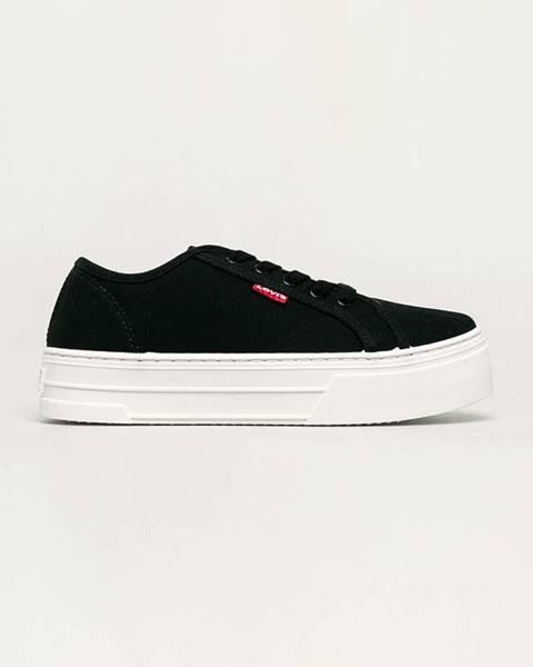 Černé boty Levi's