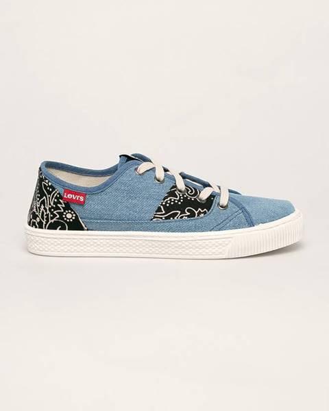Modré boty Levi's