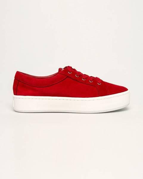 Červené boty Calvin Klein