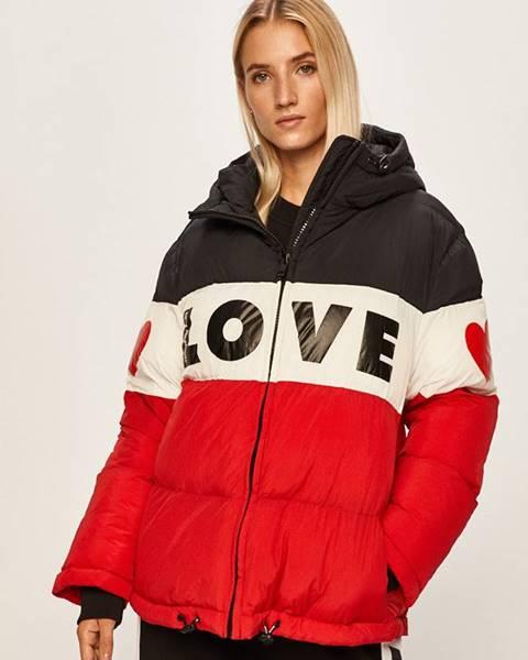 Červená bunda Love Moschino