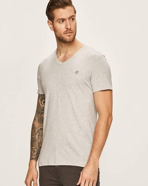 Šedé tričko Marc O'Polo