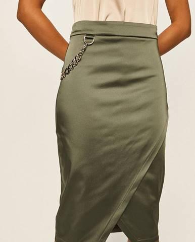 Zelená sukně Marciano Guess