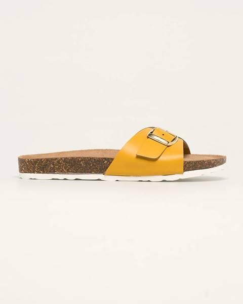 Žluté boty Marco Tozzi