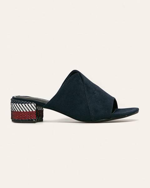 Modré boty Marco Tozzi