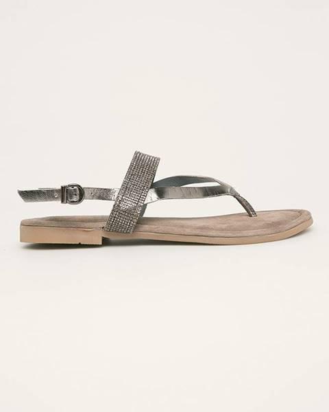 Šedé boty Marco Tozzi