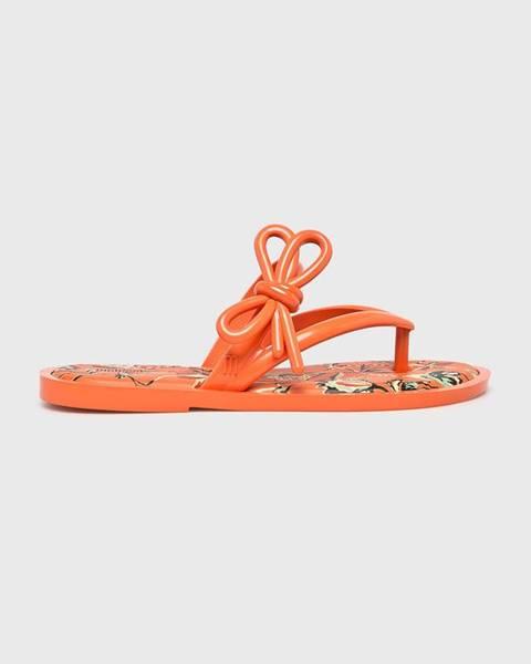 Oranžové boty Melissa