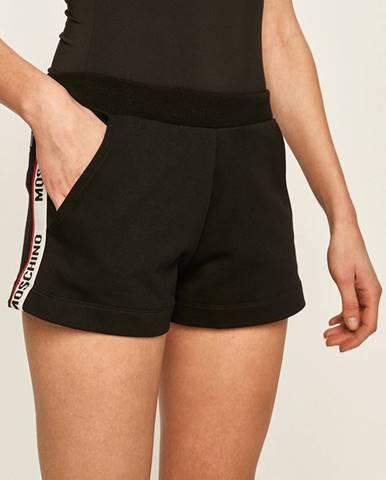 Černé kraťasy Moschino Underwear