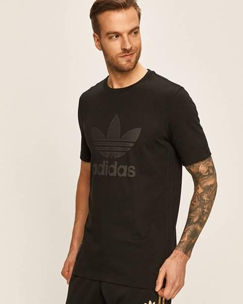 Černé tričko adidas originals