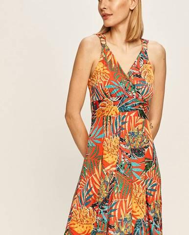Vícebarevné šaty Morgan