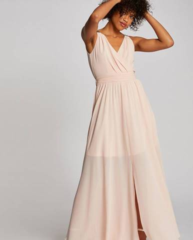 Béžové šaty Morgan