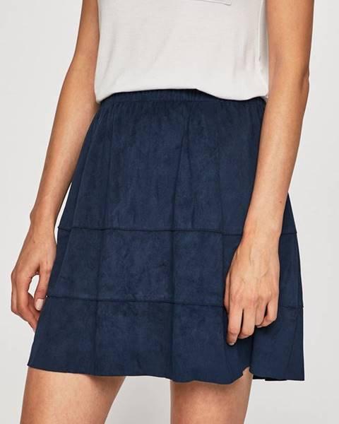 Modrá sukně noisy may
