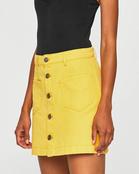 Žlutá sukně only