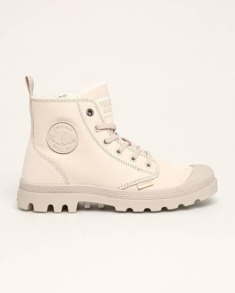 Šedé boty Palladium