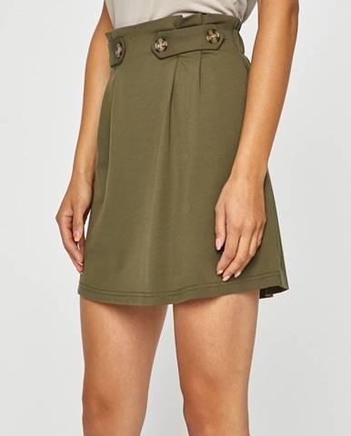 Zelená sukně only